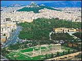 ancient athens-athens greece-city of olympic idea