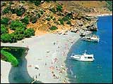 crete Rethymno greece beaches travel